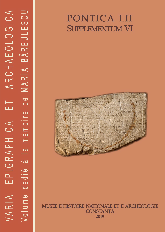 Coperta Pontica 52 Supplementum VI (2019)